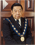 Mr. George Gee [picture] : Mayor 1968-1980