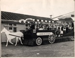 [Eastbourne Borough's float, Wellington Christmas Parade 1956] [picture] : Celebrating the Borough's 50th Jubilee